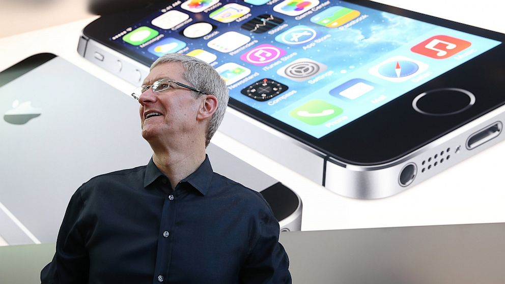 Tim Cook iPhone 5S e 5C